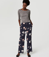 LOFT Tall Full Bloom Trousers