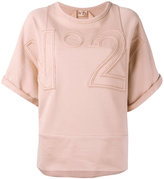 No.21 oversized sweatshirt - women - Cotton - 38