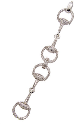 Gucci Horsebit Light Silver Bracelet