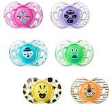 Tommee Tippee Closer to Nature Fun Pacifier, 6-18 Months, (Colours will vary)