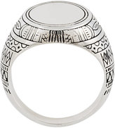 Andrea D'Amico round embossed ring