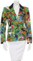 Altuzarra Tropical Print Fitted Blazer