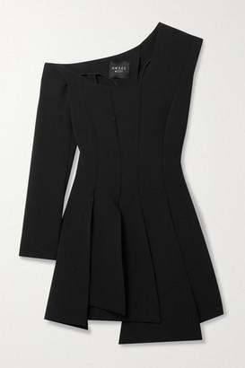 A.W.A.K.E. Mode One-sleeve Asymmetric Cady Top - Black
