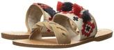 Soludos Embroidered Slide Flat Sandal