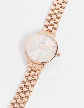 Bellfield linked bracelet in rose gold