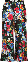 Piamita 'Harley' floral-print cropped trousers