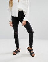 Lovers + Friends Ricky Low Rise Skinny Jeans