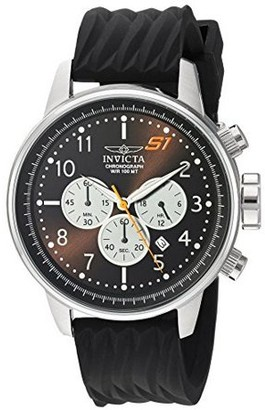 Invicta Men's S1 Rally 23811 Black Plastic Quartz Sport Watch