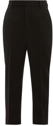 Rick Owens Easy Astaires Wool Trousers - Black