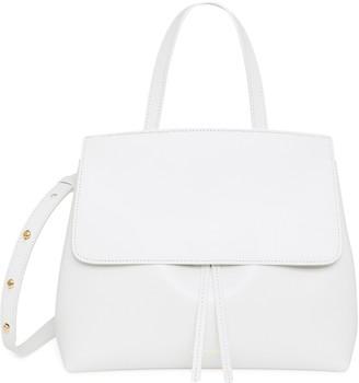 Mansur Gavriel Calf Mini Lady Bag - White/Blu