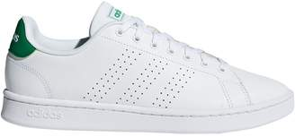 adidas Men's Perforated 3-Stripes Leather Sneakers
