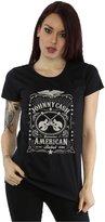 Johnny Cash Women's American Rebel T-Shirt
