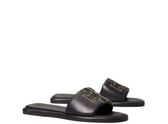 Tory Burch Double T Sport Slide