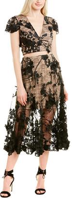 Dress the Population Juliana 2Pc A-Line Dress