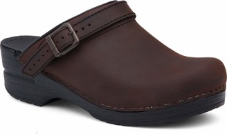 Dansko Women's Ingrid Oiled Leather Clog