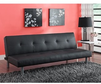 Excellent Leather Futon Shopstyle Andrewgaddart Wooden Chair Designs For Living Room Andrewgaddartcom