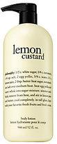 philosophy Lemon Custard Body Lotion, 32 Oz