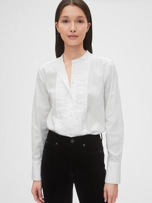 Gap Pleated Oxford Shirt