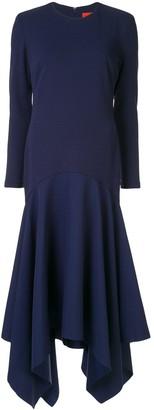 SOLACE London Asymmetric Long Dress