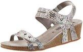 Mephisto Women's Minoa Mimosa 18505 Light Grey Open Toe Sandals grey Size: