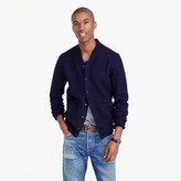J.Crew Wallace & Barnes boiled wool bomber jacket