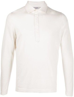 La Fileria For D'aniello Long Sleeved Polo Shirt