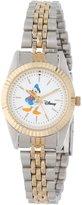 Disney Women's D113S776 Donald Duck Two-Tone Bracelet Watch