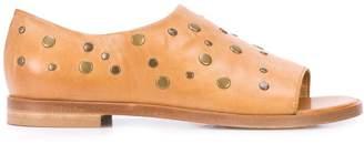 Alberto Fermani stud-embellished sandals