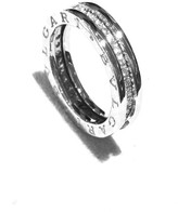Bulgari B Zero White Gold & Diamond Ring