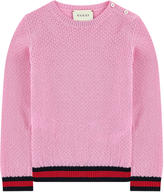 Gucci Openwork wool sweater