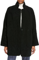Boon The Shop Mernillo Leather and Shearling Reversible Coat