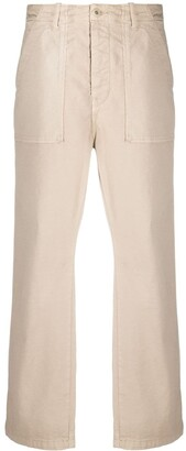 BA&SH High-Waist Straight-Leg Trousers