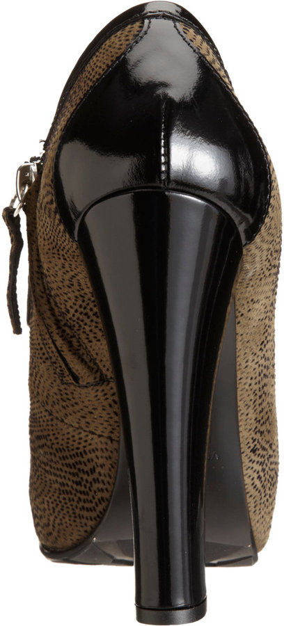 Proenza Schouler Speckled Loafer Platform Pump