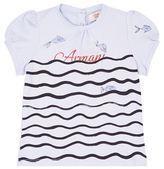 Armani Junior Fish Kiss T-Shirt