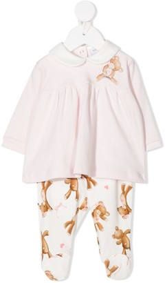 MonnaLisa Teddy Bear Trouser And Top Set