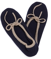 A & R Cashmere Two Tone Cashmere & Wool Slippers