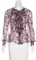 Chanel Silk Printed Blouse