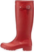 Hunter Original Tour Buckled Welly Boot, Red