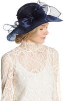 San Diego Hat Company Derby Round Crown Bow Hat