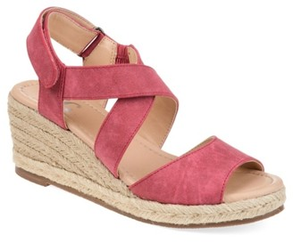 Journee Collection Spencer Espadrille Wedge Sandal
