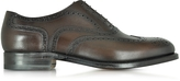 Moreschi Windsor Dark Brown Leather Wingtip Oxford Shoe