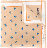 fe-fe printed pocket square - unisex - Silk - One Size