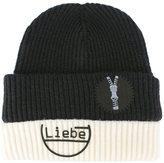 Maison Margiela 'Liebe' beanie hat