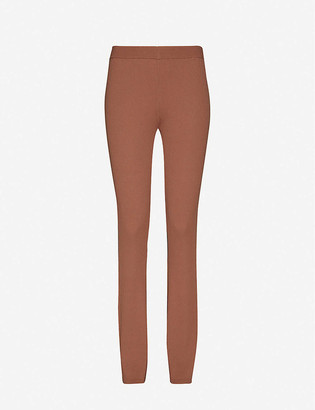 Designers Remix Alvin mid-rise knitted trousers