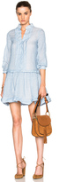 See by Chloe Cotton Gauze Mini Dress