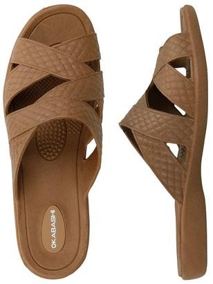 OKA b. Oka-B Slip-On Sandals - Cross-Strap