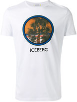 Iceberg palm tree print T-shirt - men - Cotton - S