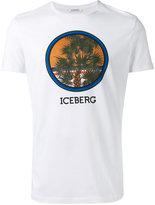 Iceberg palm tree print T-shirt