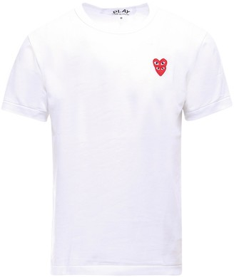 Comme des Garcons Overlapping Heart T-Shirt
