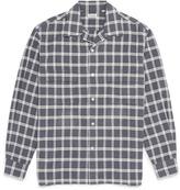 Camoshita Check plaid flannel shirt